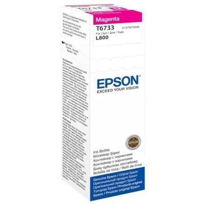 Inkoustová náplň Epson T6733 červená