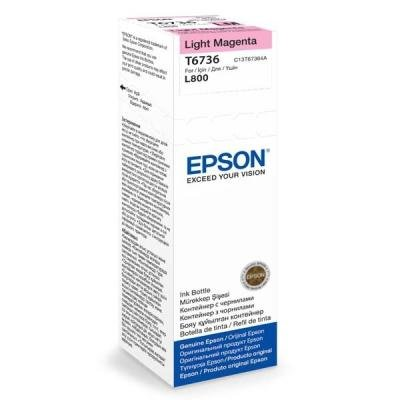 Inkoustová náplň Epson T6736 světlá červená