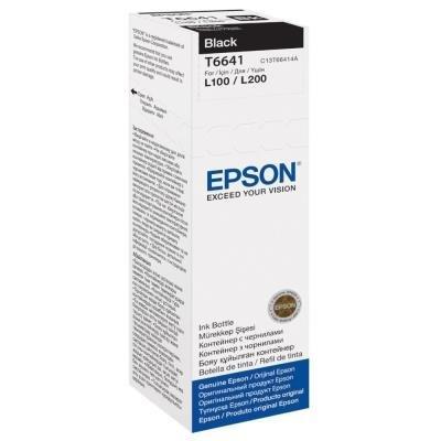 Inkoustová náplň Epson T6641 černá