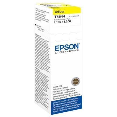 Inkoustová náplň Epson T6644 žlutá