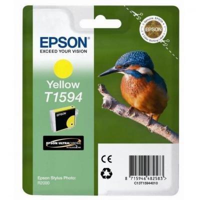 Inkoustová náplň Epson T1594 žlutá