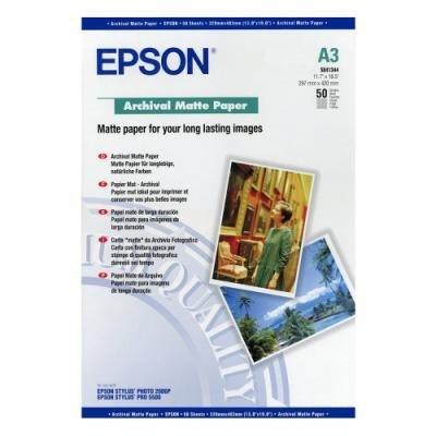 Fotopapír Epson Archival Matte Paper A3 50ks