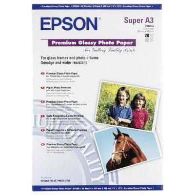Fotopapír Epson Premium Glossy A3+ 20ks