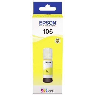 inkoustová náplň Epson 106 EcoTank žlutá