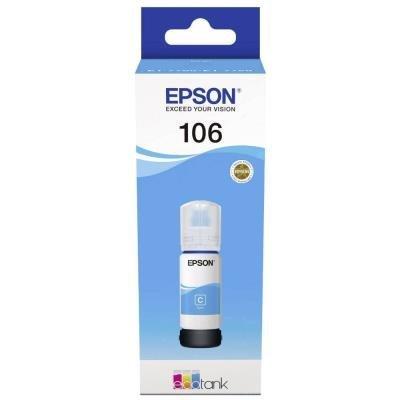 inkoustová náplň Epson 106 EcoTank modrá