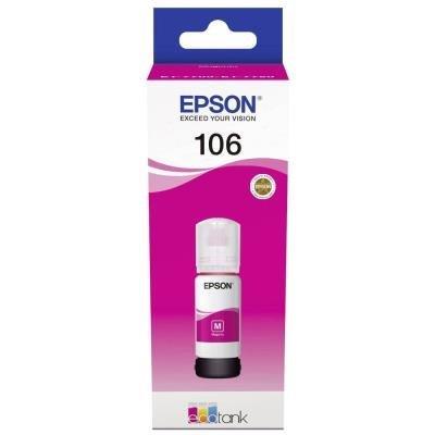 inkoustová náplň Epson 106 EcoTank červená