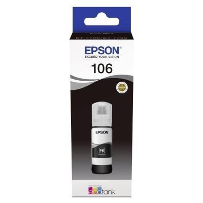 Inkoustová náplň Epson 106 EcoTank černá