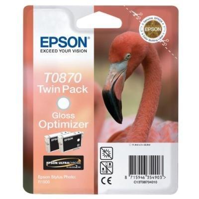 Inkoustová náplň Epson T0870 optimizér lesku