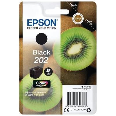 Epson 202 Claria Premium černá