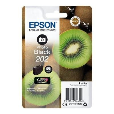 Epson 202 Claria Premium foto černá