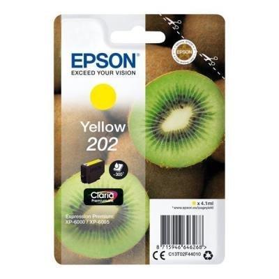 Epson 202 Claria Premium žlutá
