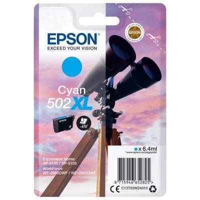 Epson 502XL modrá