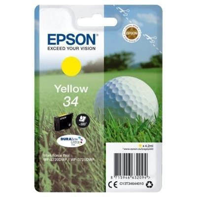 Epson 34 DURABrite Ultra žlutá