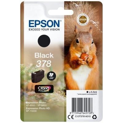 Epson 378 Claria Photo HD černá