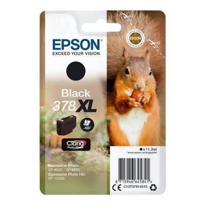 Epson 378 XL Claria Photo HD černá
