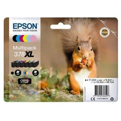 Epson 378 XL Claria Photo HD multipack 6 barev