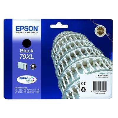 Inkoustová náplň Epson T7901 černá