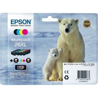 Inkoustová náplň Epson T2636 CMYK