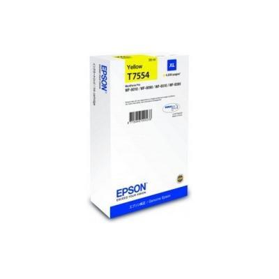 Inkoustová náplň Epson T7554 XL žlutá
