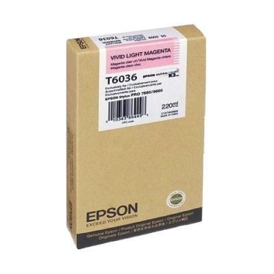 Inkoustová náplň Epson T6036 sytá světlá červená