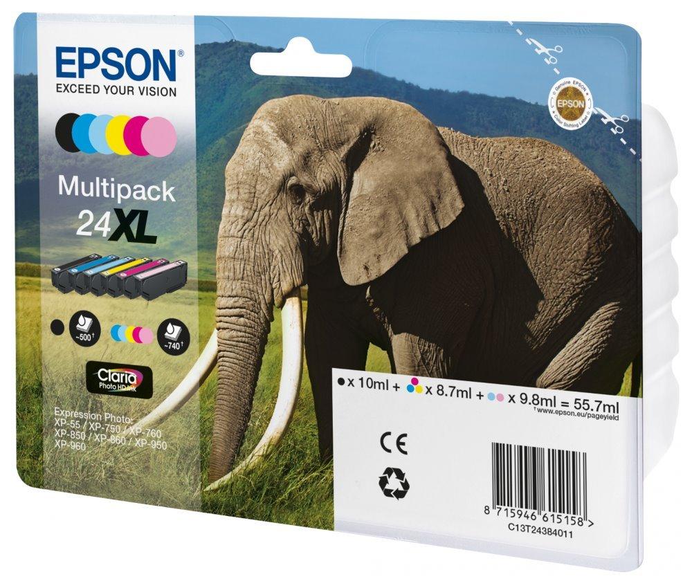 Inkoustová náplň Epson 24XL 6 barev