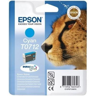 Inkoustová náplň Epson T0712 modrá