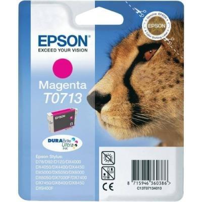 Inkoustová náplň Epson T0713 červená