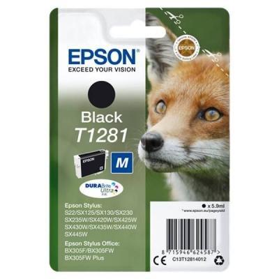 Inkoustová náplň Epson T1281 černá