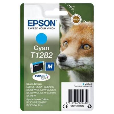 Inkoustová náplň Epson T1282 modrá