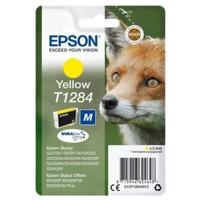 Inkoustová náplň Epson T1284 žlutá