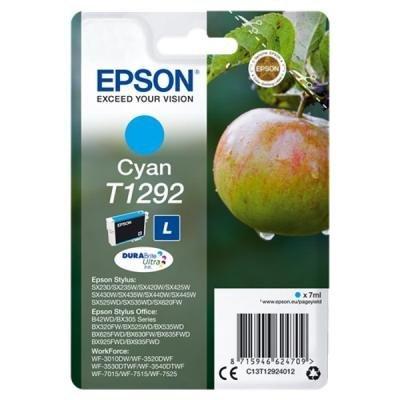 Inkoustová náplň Epson T1292 modrá
