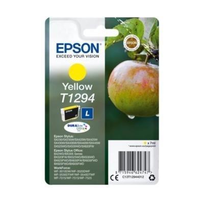 Inkoustová náplň Epson T1294 žlutá