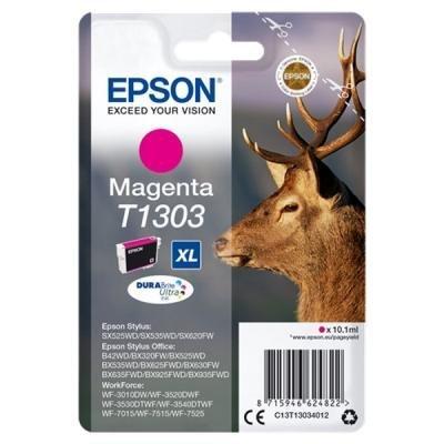 Inkoustová náplň Epson T1303 červená