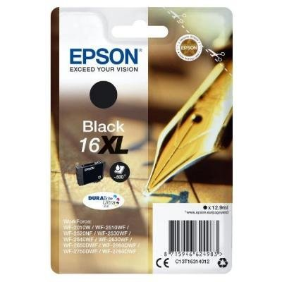Inkoustová náplň Epson T1631 černá