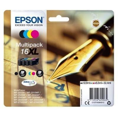 Epson inkoustová náplň/ T1636/ 16XL Multipack Series 'Pen and Crossword'/ 4x barvy