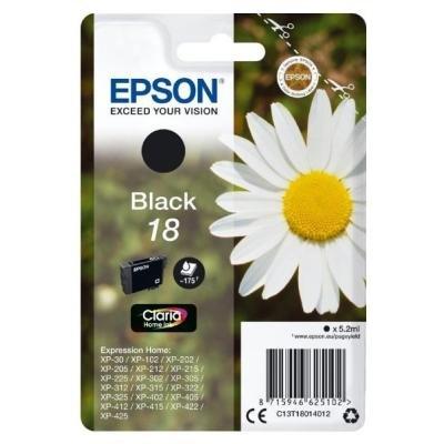 Inkoustová náplň Epson T1801 černá