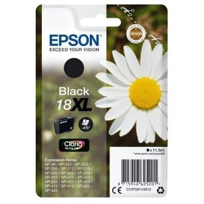 Inkoustová náplň Epson T1811 černá