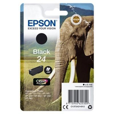 Inkoustová náplň Epson T2421 černá