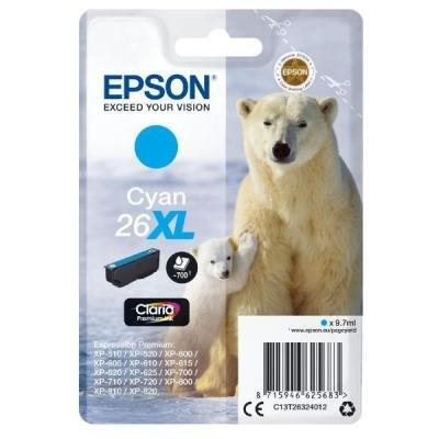 Inkoustová náplň Epson T2632 modrá