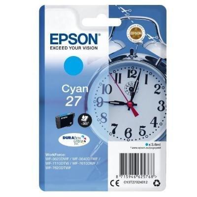 Inkoustová náplň Epson T2702 modrá