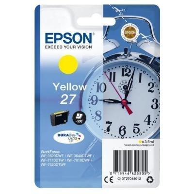 Inkoustová náplň Epson T2704 žlutá