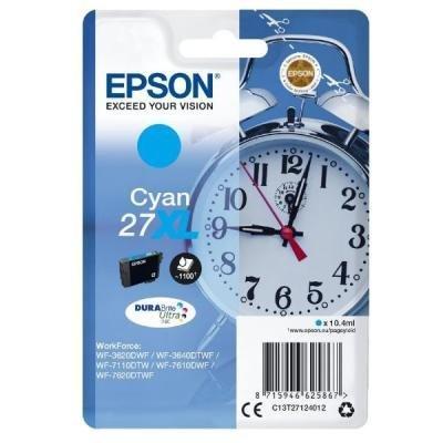 Inkoustová náplň Epson T2712 modrá