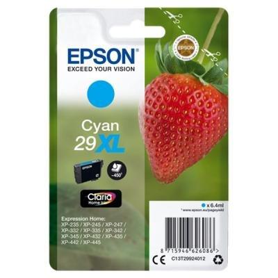 Inkoustová náplň Epson T2992 modrá