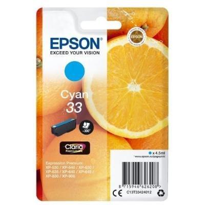 Inkoustová náplň Epson T3342 modrá