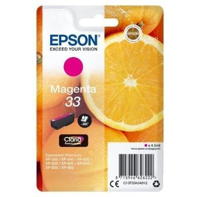 Inkoustová náplň Epson T3343 červená