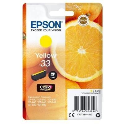 Inkoustová náplň Epson T3344 žlutá