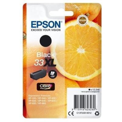 Inkoustová náplň Epson T3351 černá