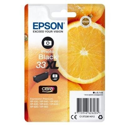 Inkoustová náplň Epson T3361 foto černá