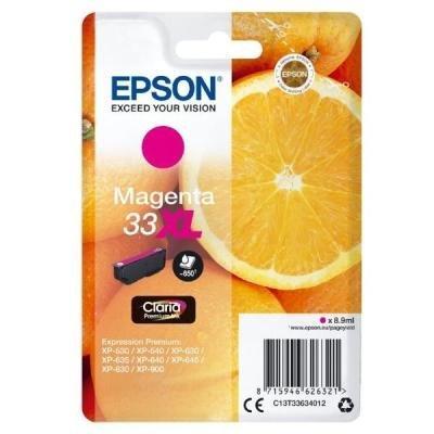 Inkoustová náplň Epson T3363 červená