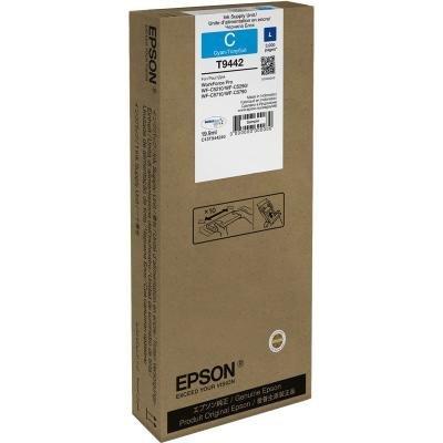 Inkoustová náplň Epson T9442 modrá